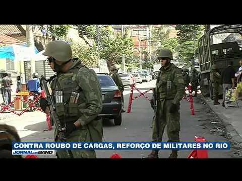 Forças Armadas Fazem Operação Contra Roubo De Cargas No RJ