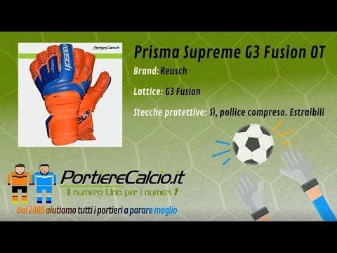 Guanti portiere Reusch Prisma Supreme G3 Fusion Ortho Tec