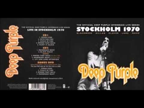 Deep Purple - Stockholm 1970  (audio restored&digitally remastered)