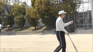 大阪府立 狭山高等学校 硬式野球部 中山先生最後のノック
