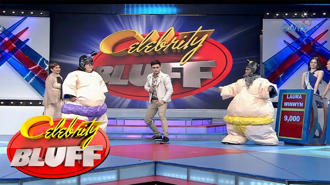 'Celebrity Bluff' Outtakes: Boobay at Boobsie, nagbanggaan sa sumo wrestling!