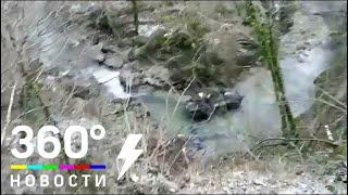 Трое российских военных погибли в Абхазии при опрокидывании БТР