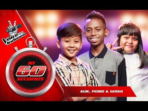 Alde dan Pedro dan Geisha | The Blind Auditions | The Voice Kids Indonesia GlobalTV 2016