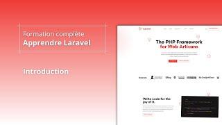 Miniature catégorie - Apprendre Laravel 8 - Introduction