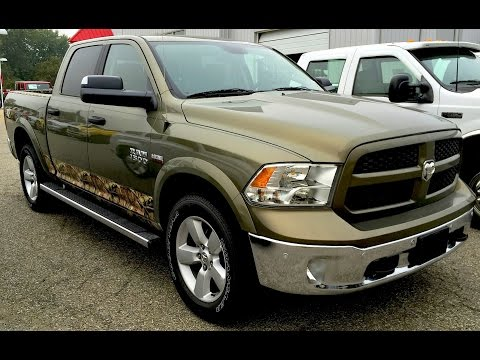 2014 RAM 1500 Outdoorsman Mossy Oak Edition|17636