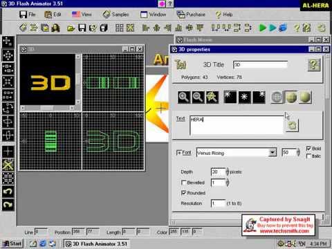 3D FLASH ANIMATOR plugin bangla flv