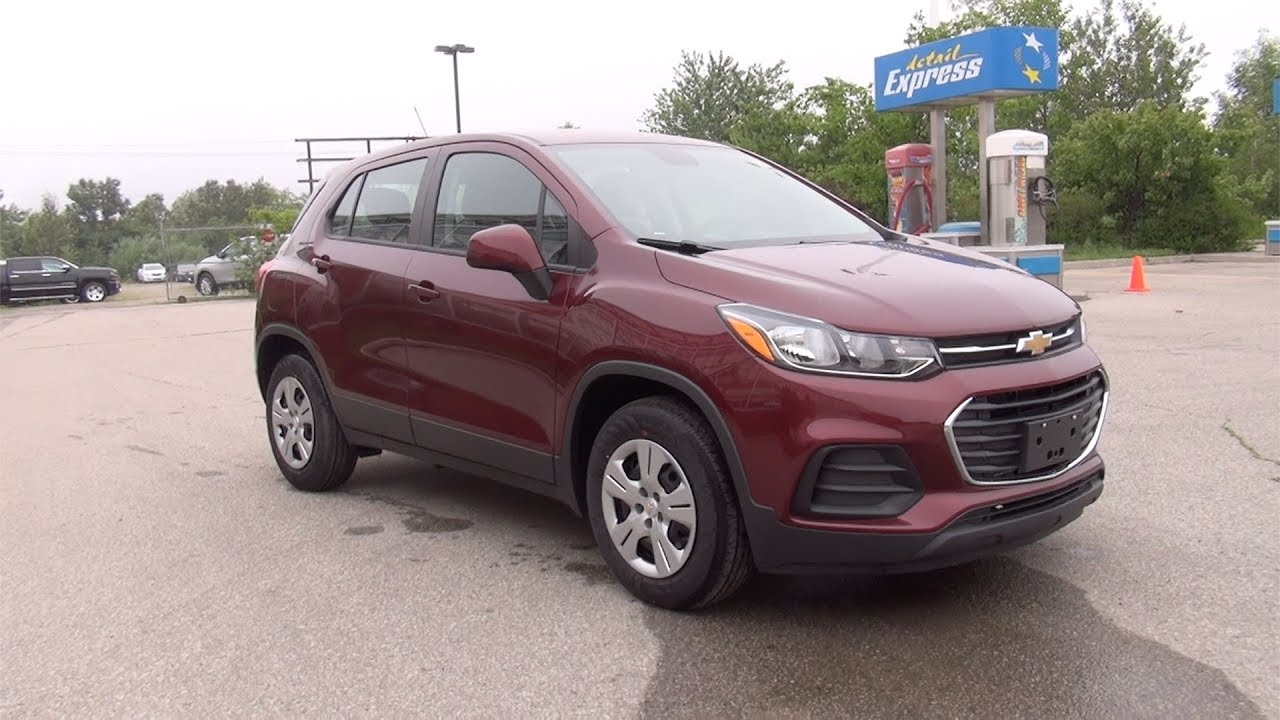2017 Chevrolet Trax Ls Crimson Metallic