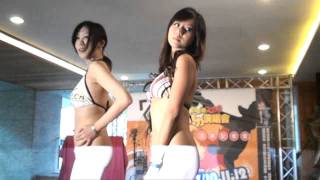Taiwanese girls bikini fashion show