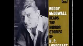 Roddy McDowell Reads the Hound by H P  Lovecraft