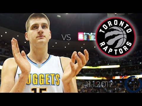 Nikola Jokic Dismantles the Dinos - Full Box Score Highlights - 11.1.2017