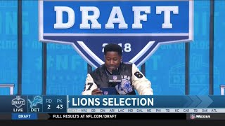 The Detroit Lions Trade up and Draft Kerryon Johnson