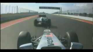 US Grandprix Hamilton vs Vettel Overtake - 2012 Austin