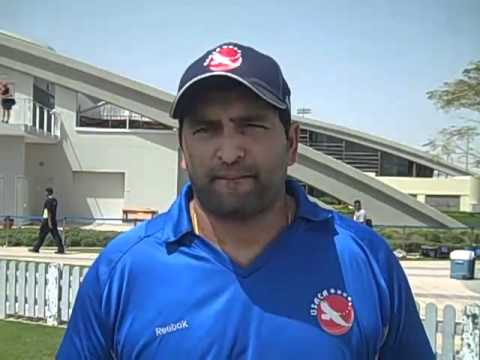 2012 ICC WT20Q USA vs. Namibia Post Match Interview with Sushil Nadkarni