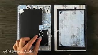 """Альбом ручной работы """"Твоё время"""" - обзор"""