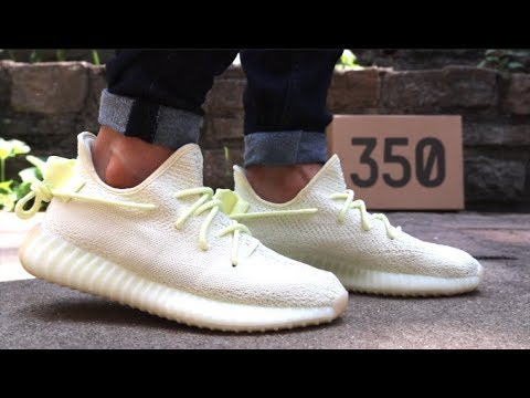 new concept 709d8 b2ba5 Adidas Yeezy 350 V2 Butter Unboxing   Review - Yeezy Giveaway