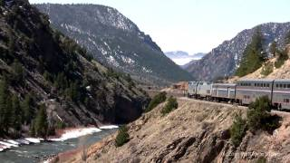 California Zephyr Crossing the Rockies 2