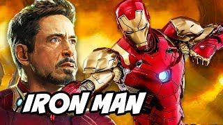 Avengers 4 Iron Man New Armor Teaser Breakdown