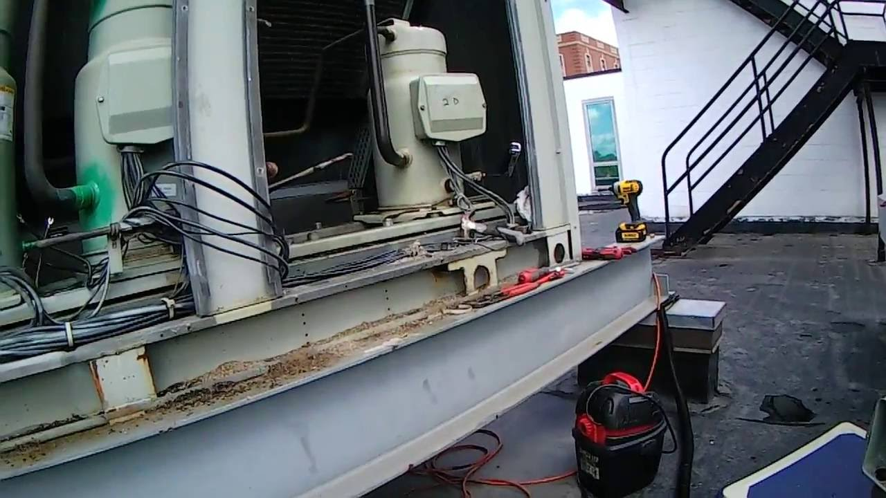 Hvac On The Job Training How To Remove Compressor Oil With A Vacuum Pump Alternatives Wiring Diagram 0