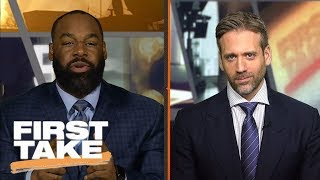 First Take argues if recent NFL suspensions for violent hits were correct | First Take | ESPN