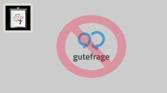 Gutefrage.net Account löschen | So Gehts!