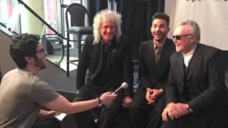 Queen give update on  Freddie Mercury Biopic Q+AL Press Conference 6 Mach 2014