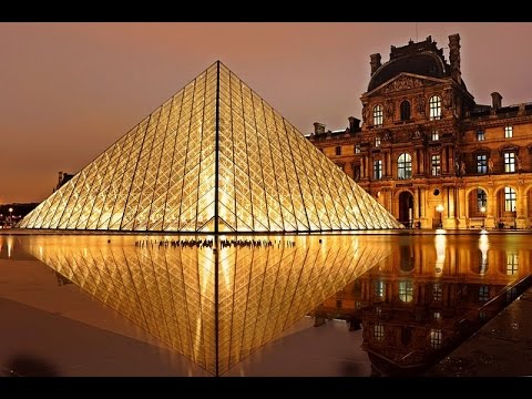Louvre Pyramid Paris, France | Louvre Pyramid Travel Videos Guide