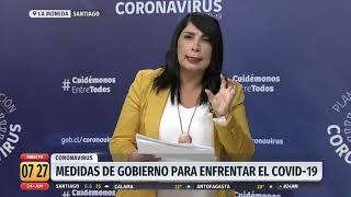 """Karla Rubilar: """"El peak de contagios se producirá a fines de abril"""""""