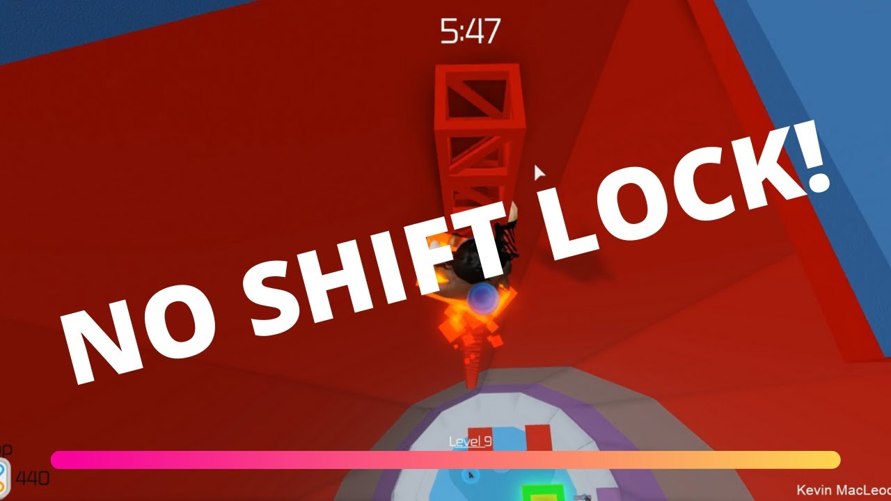 How To Use Shift Lock In Roblox Tower Of Hell