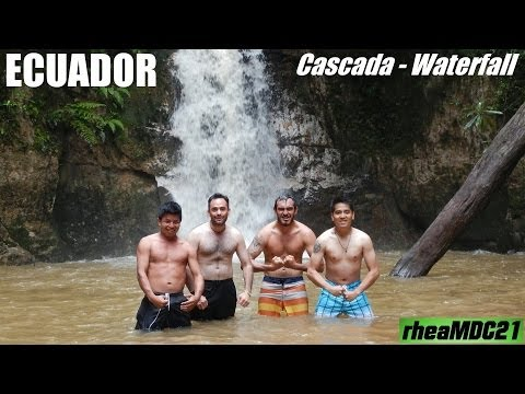 My Trip to South America: A Waterfall Swim in Tena, Ecuador