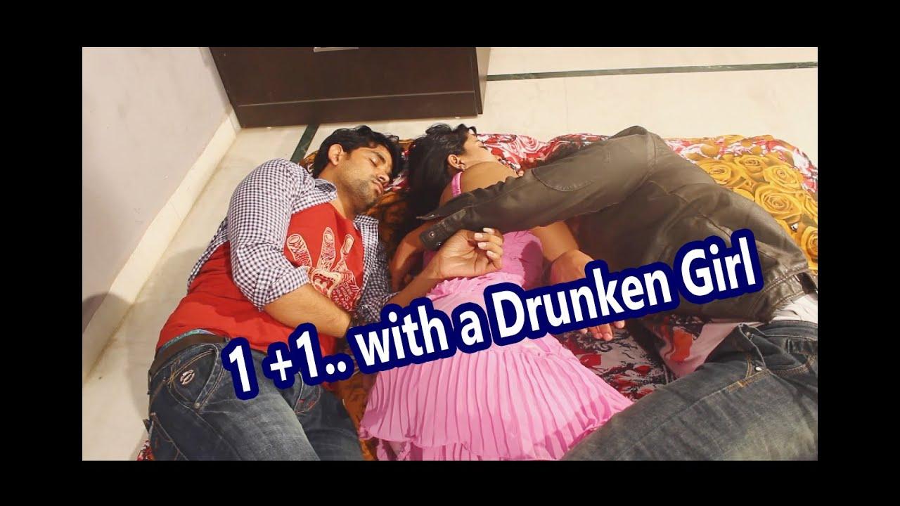 Two Boys With A Drunken Aunty - Two Boys Enjoying One -1169