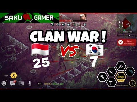 Clan War Durango : Wild Lands Indonesia VS Korea Negeri Plastik wkwk