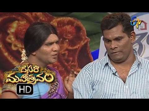 Chammak Chandra Performance | Dasara Mahotsavam  | 11th October 2016 | ETV  Telugu