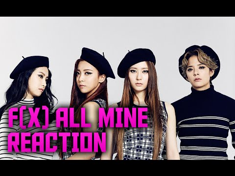 f(x) 에프엑스 All Mine MV Reaction