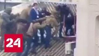 Полиция Украины: Саакашвили затерялся среди палаток - Россия 24