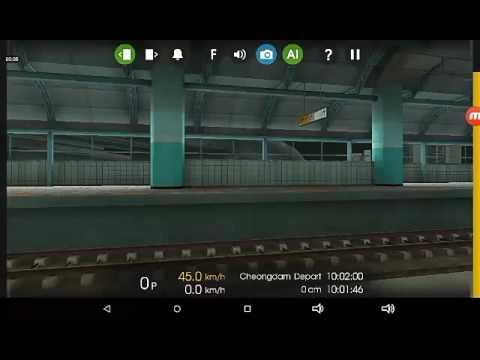 Hmmsim 2 Railfaning line 7/ cab ride