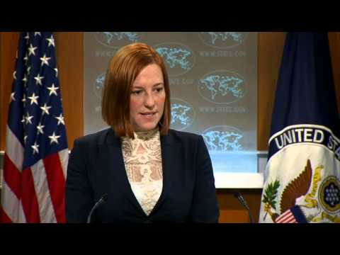 Daily Press Briefing: March 18, 2014