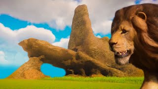 I Made Pride Rock from Lion King in Planet Zoo