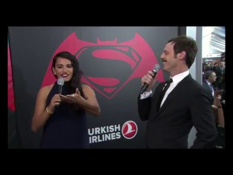 Batman v Superman: Dawn of Justice  s with Scoot McNairy US NYC Premiere