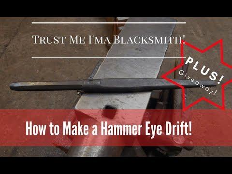 How to make a Hammer Eye Drift! Trust Me I'ma Blacksmith!