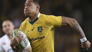 Israel Folau: Catalan Dragons spark shock after signing player who said 'hell awaits' gay people