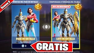 FORTNITE REGALA THE BATTLE PASS OF SEASON 9 FREE!! 😱