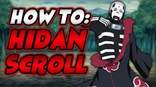 HOW TO GET THE HIDAN SCROLL IN NARUTO RPG: BEYOND | Roblox