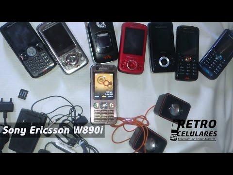 Sony Ericsson W890 Colección Celulares Clásicos, Antiguos, Viejos Old Cell Phones RETRO CELULARES