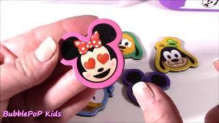 BubblePOP Kids! Disney EMOJI Deluxe ART SET! 96 Stationery Accessories! Lip GLOSS! FUN