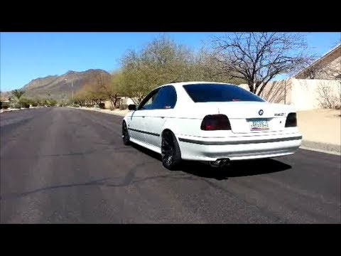 bmw e39 540i magnaflow exhaust before after vibrant performance resonator install youtube. Black Bedroom Furniture Sets. Home Design Ideas