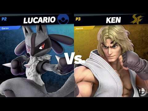 Lucario [Garou] vs Ken [JayCee] · Super Smash Bros. Ultimate Gameplay Tournament 【スマブラSP】