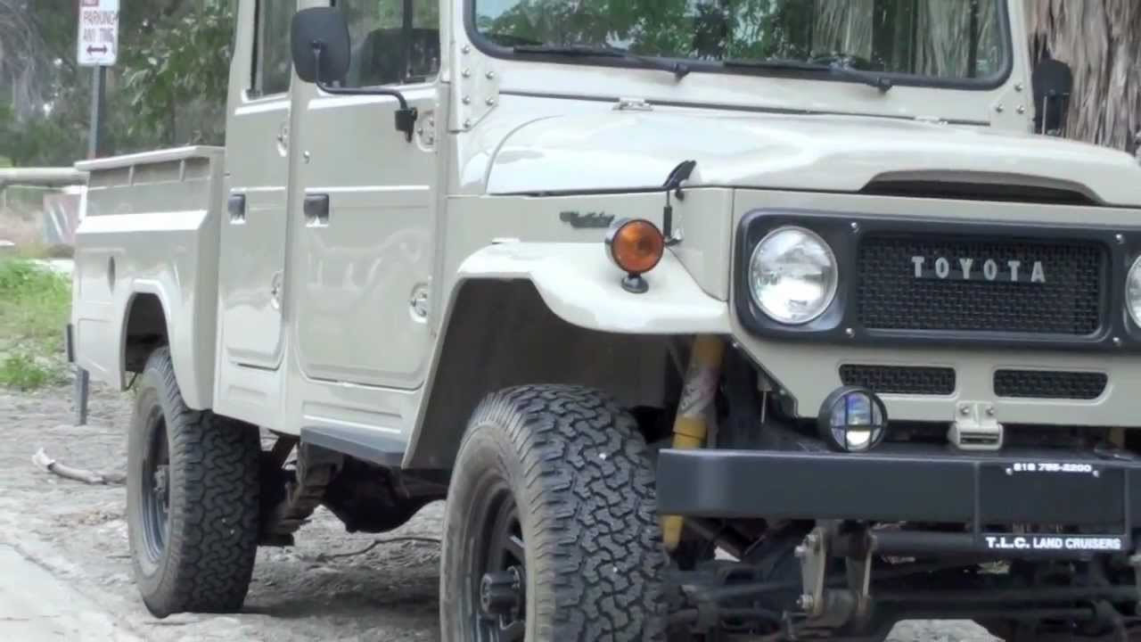 One Of A Kind Crew Cab Fj45 Designed And Restored By Tlc