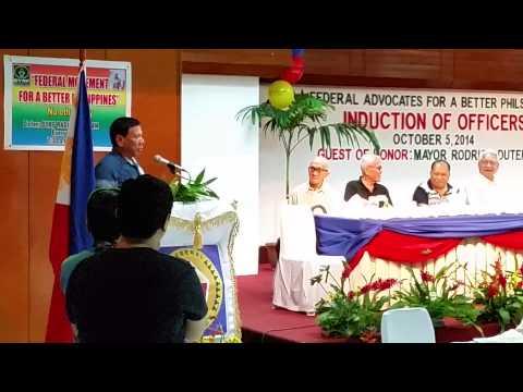 Duterte's take on Philippine politics