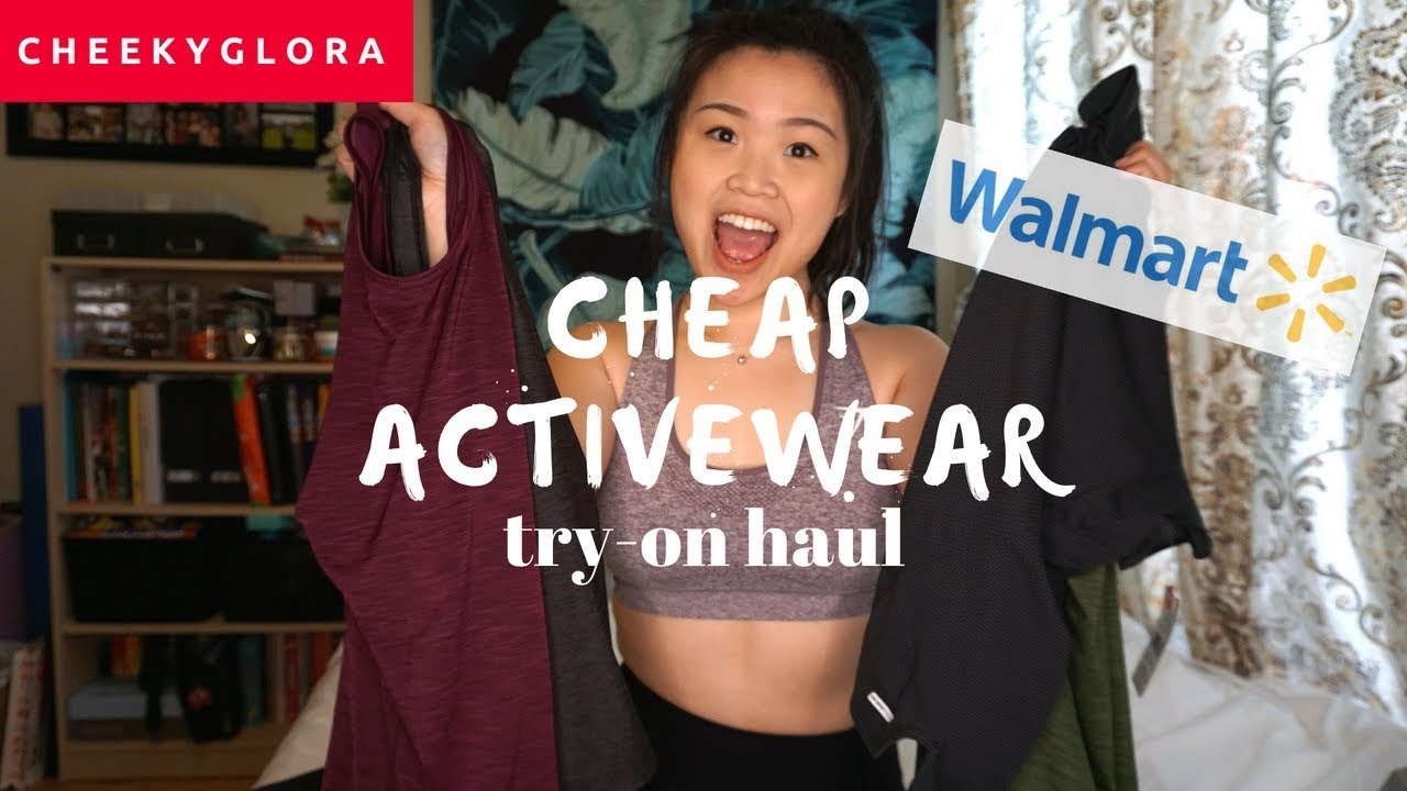 4d8820ca83 Cheap Activewear - Walmart Haul   Try On