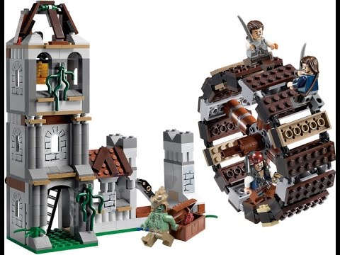 Lego Pirates Of The Carribean Mill Set Review